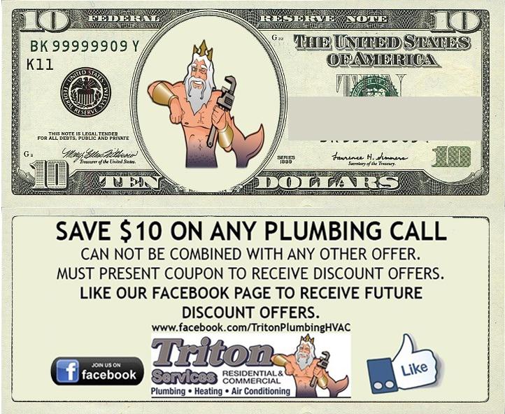 $10 Plumbing Coupon