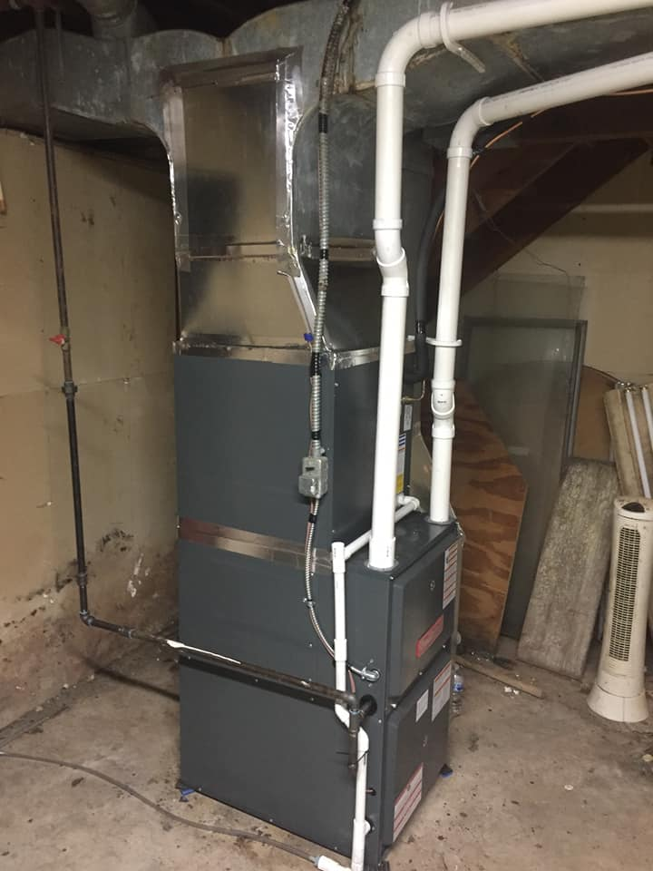 Furnace replacement after shot 1